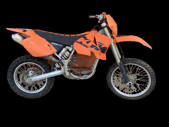 KTM 525 exc 2004 removebg preview