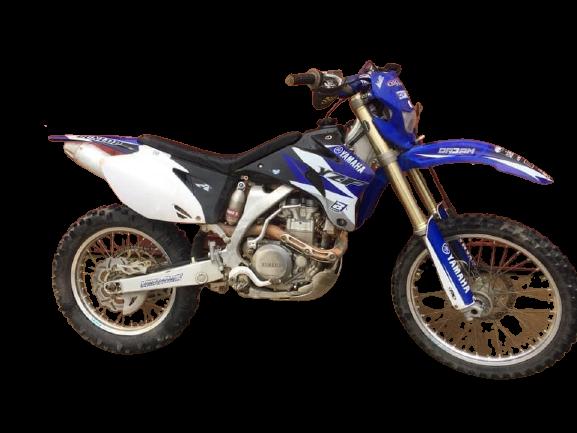 Yamaha YZ 450 F 2006 removebg preview