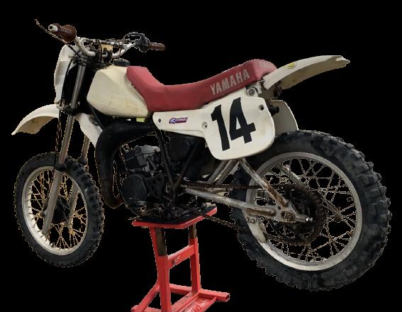 Yamaha YZ 80 1982 removebg preview